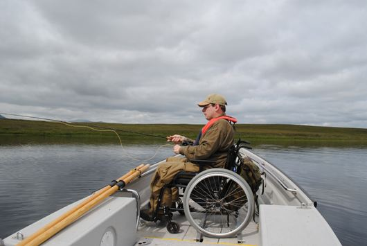 loch fishing with wheelchair access